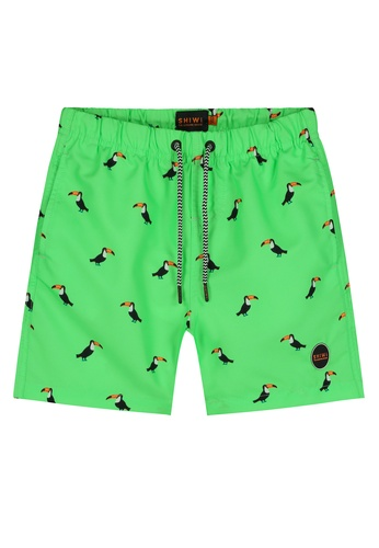 Shiwi green Tucan Swim Shorts ECFDAKAFA57764GS_1