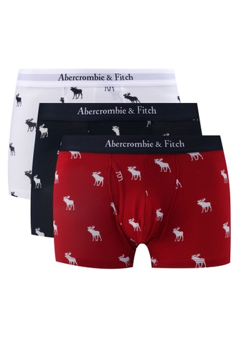 Abercrombie & Fitch red 3-Pack Boxers 74D95USF029F35GS_1