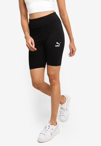 Puma black Classics Women's Short Leggings BA5A6AA49B70E4GS_1