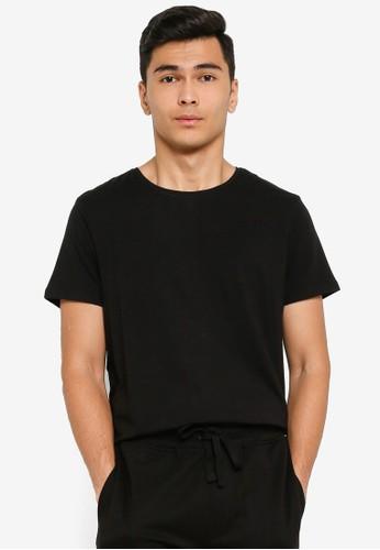 JBS of Denmark black Basic O-Neck T-Shirt 973B0AA6791CB6GS_1