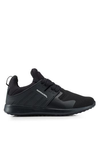 North Star 黑色 綁帶運動鞋 A5CF5SH1761D95GS_1