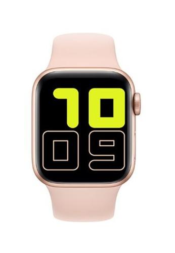 Biden Watch pink Full Touch Smart Watch for Apple Watch mendukung panggilan Bluetooth kontrol musik wanita Smart B609CAC69E3508GS_1
