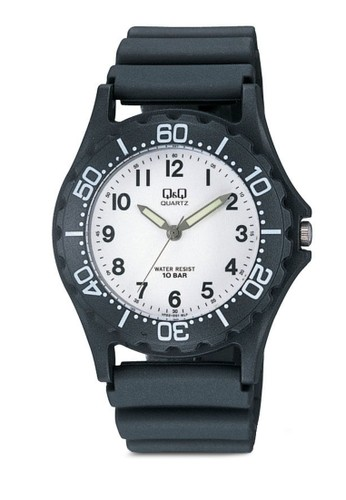 Q&Q VP02J001 zalora退貨戶外休閒手錶, 錶類, 其它錶帶