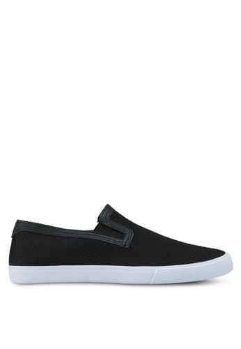 Topman black Keys Knit Black Slip Ons 8A3E2SH2FF9981GS_1