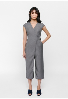e125d69dfe6 Grecia Foldover Belted Midi Jumpsuit 9A112AAAC5FD08GS 1
