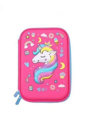 Twenty Eight Shoes pink VANSA 3D Cartoon Pencil Case  VAK-A0021 4CB6CKC633EEC8GS_1