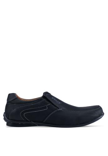 Louis Cuppers black Faux Leather Shoes 3D2C2SHFD601B5GS_1