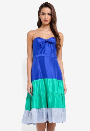 J Crew Blue Jackaroo Silk Shantung Dress 68cb1aad097a18gs 1