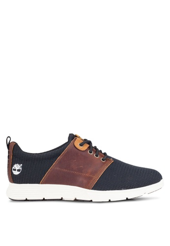 Timberland navy Killington Leather And Fabric Oxford Shoes TI063SH0RFMMMY_1