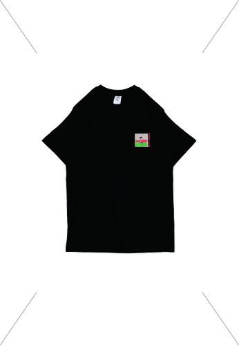 UNKL347 black Unkl347 To The Beach Kaos Lengan Pendek Hitam Beach Club B4687AAB32A069GS_1