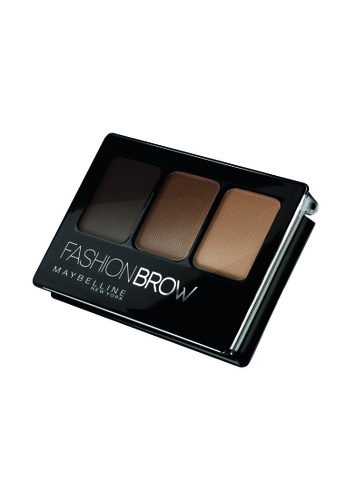Maybelline brown Maybelline Fashion Brow 3D Contouring Palette Brown MA671BE67MVOMY_1