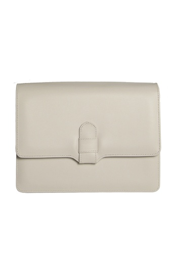 72 SMALLDIVE white 72 Smalldive Womens Calf Leather Shoulder Leather Handbag Ivory 8B6ABAC1E84717GS_1