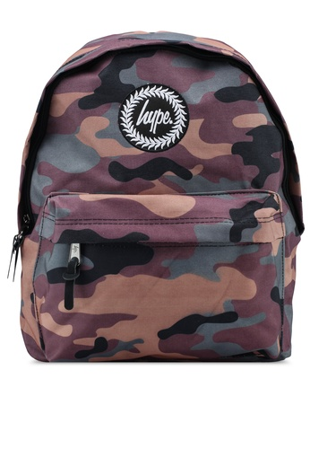 Just Hype multi Camo Backpack 83448AC3B41C37GS_1