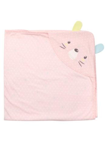 Organic mom pink Pink Bear Swaddling Blanket (SUMMER) 69359KCB89270BGS_1