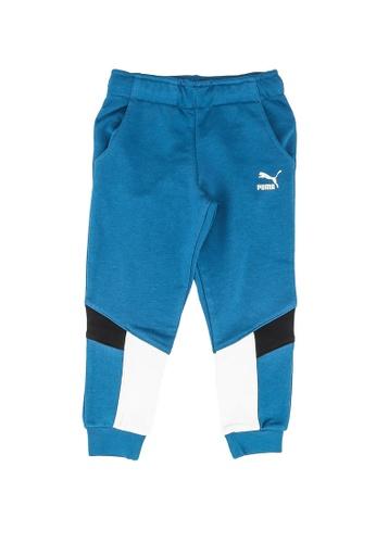 PUMA blue Animals MCS Sweatpants 32E54KA0044E50GS_1