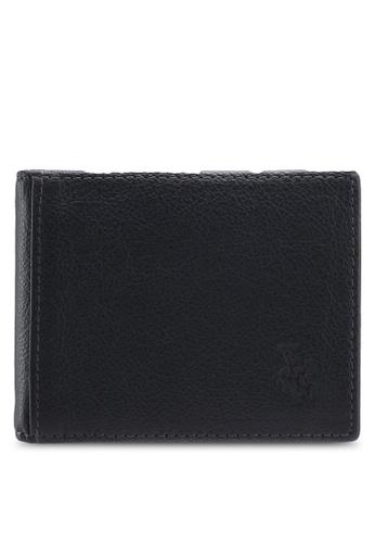 Swiss Polo blue Swiss Polo Genuine Leather Money Clip C5F3DAC609ECB5GS_1