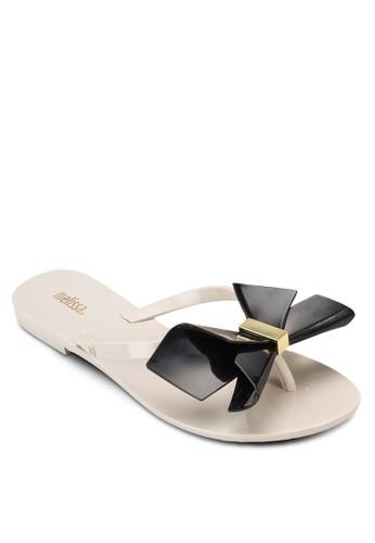 Harmonic Bow II 蝴蝶結拖鞋, 女鞋zalora是哪裡的牌子, 鞋