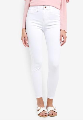 River Island white Harper High Rise Regular Jeans AE333AA970E720GS_1