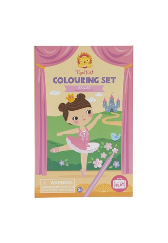Tiger Tribe Colouring Set - Ballet 5639ATH66BB90EGS_1