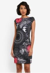 Desigual black Tricia Dress DE160AA0S53WMY_1