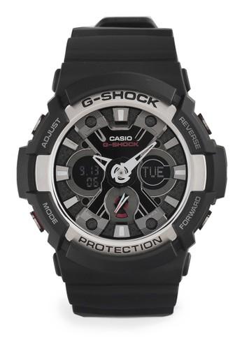 Casio black Casio G-SHOCK Jam Tangan Pria - Black - Silicon - GA-200-1ADR CA347AC54QCZID_1