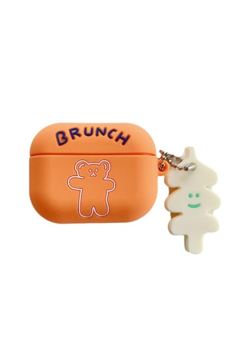 Kings Collection orange Little Bear AirPods Case (KCAC2140) 32F62AC681AD4BGS_1