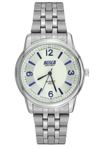 Dooka silver Bosck Men's Round Dial Stainless Steel Wrist Watch 8082 DO079AC98WCBPH_1