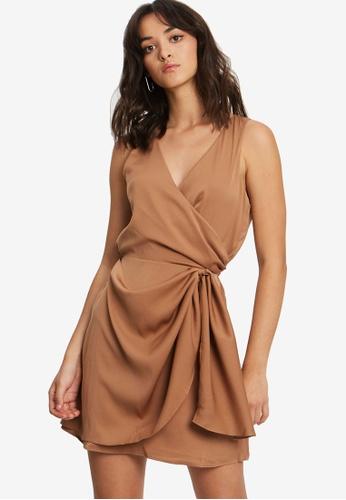 BWLDR brown Night Sky Dress 6934EAA80B39F6GS_1