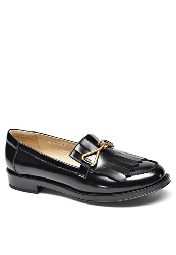 Twenty Eight Shoes Leather Metal Buckle Loafer YM27088 A8339SH1280937GS_1