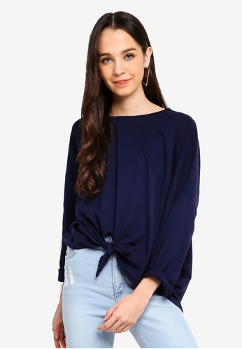 Cotton On navy Shelby Oversized Top 73CB3AA0E82096GS_1