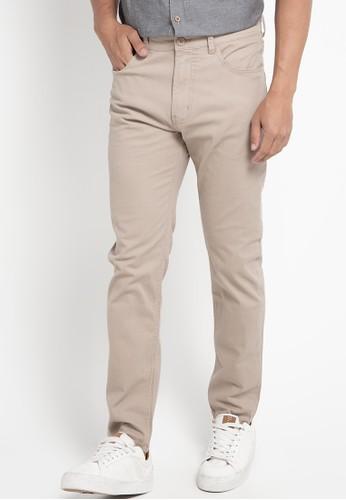 Tripl3 Jeans beige Celana Panjang Pria 3A289AAC06B87AGS_1