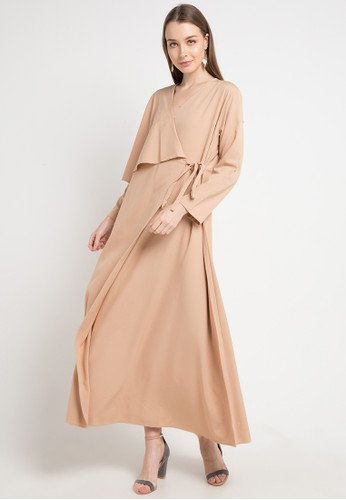 Covering Story beige Khaira Dress - F 4AF58AA124F47EGS_1