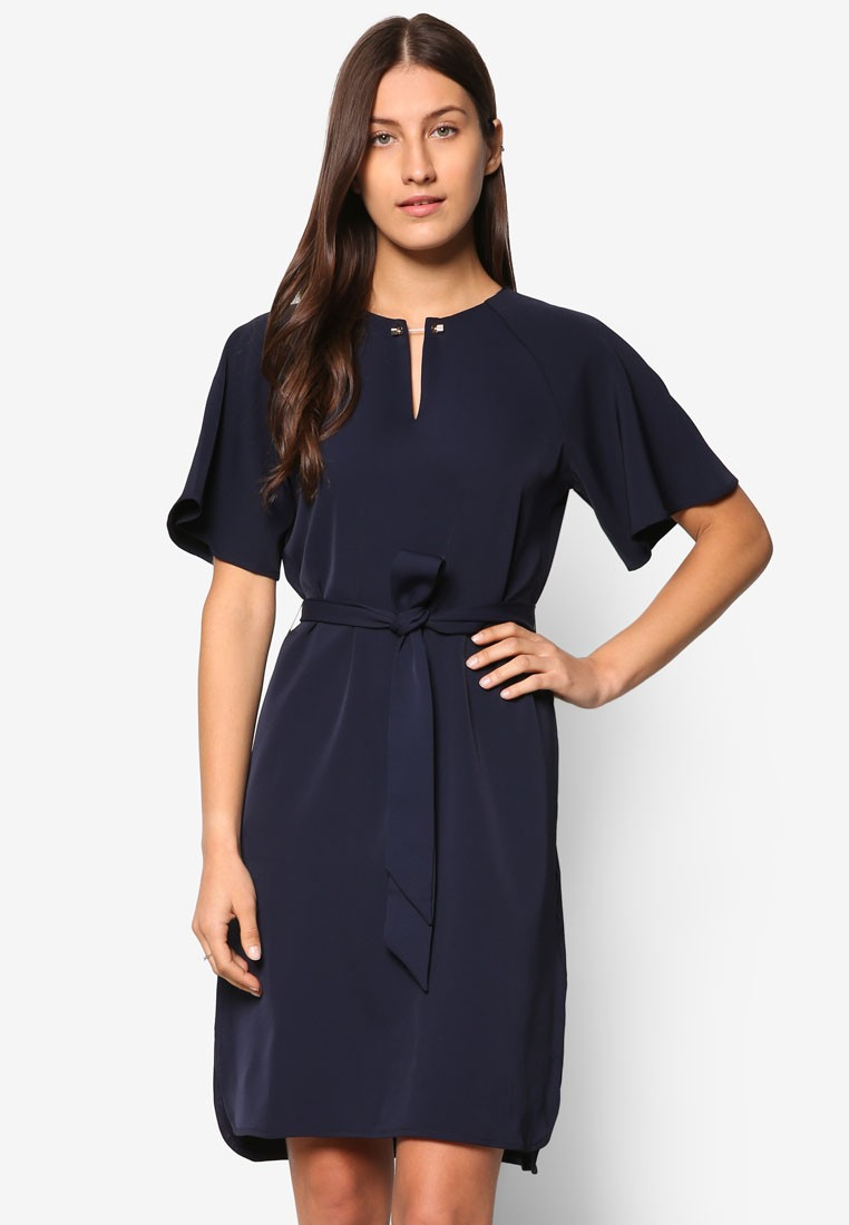 Collection Shift Dress With Belt