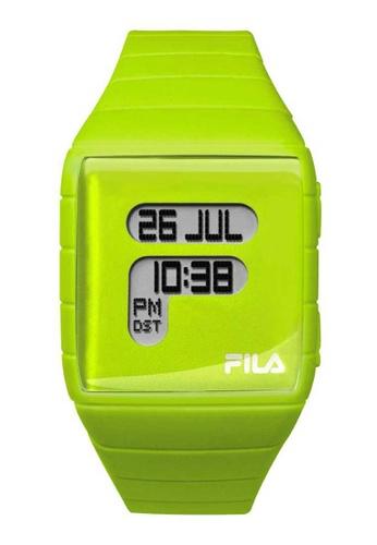 FILA Watches green Fila Digital Lime Rubber Watch 007EBAC9E6A7E0GS_1
