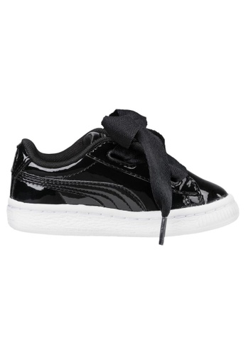 363353 Puma Basket Patent Sneakers Inf Heart xedCBWro