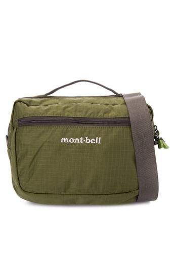 Montbell green Travel Shoulder Bag MO283AC0KRUMPH_1