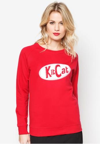 KitCat 文字長袖衫, 服esprit門市飾, 服飾
