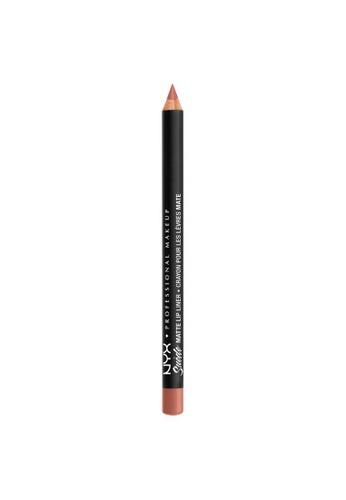 NYX Professional Makeup beige NYX Professional Makeup Suede Matte Lip Liner - SMLL 50 - DAINTY DAZE 5E376BE4D19160GS_1