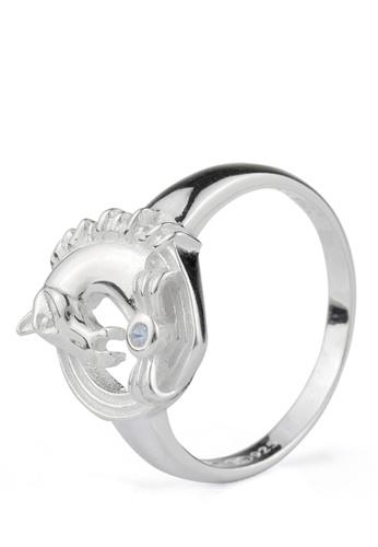 SC Tom Silver silver Men's Stone Ring/Men's Ring SC872AC17ZAOPH_1