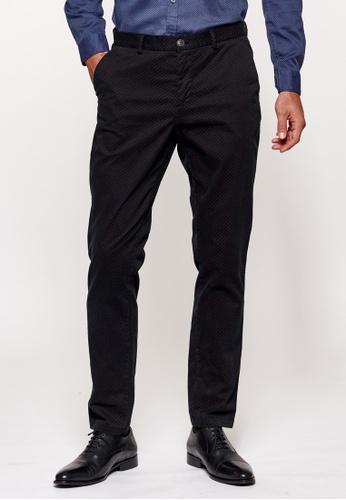Sisley black Slim Fit Chinos 674E8AAF2CBA63GS_1