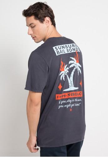 hurley grey Bail T-Shirt 1CF31AA585018DGS_1
