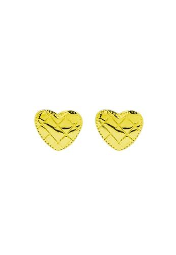 LYCKA gold LDR1258 S925 Silver Classic Heart Stud Earrings 30E29AC8FC5998GS_1