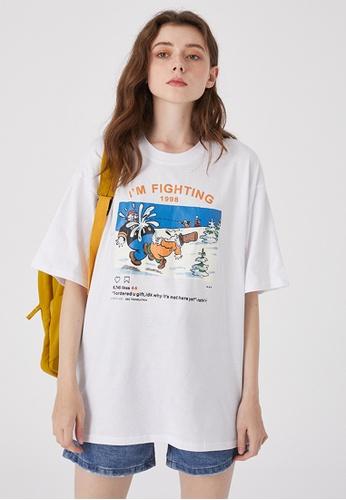 Twenty Eight Shoes Trend Printed Short T-shirt HH0229 AAB0FAA6F6AA74GS_1