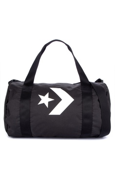 dc2b6d853394 Converse black Small Sports Duffel Bag ACA42ACDAEFA30GS 1