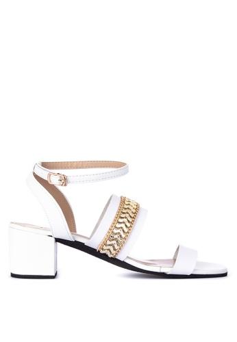 82bda7926 Shop Mishka Carmela 2 Strap Heeled Sandals Online on ZALORA Philippines