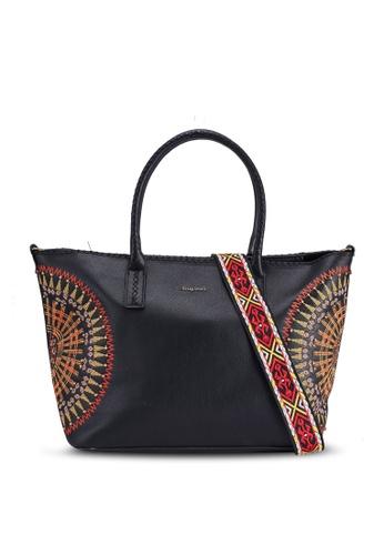 Desigual black African Mandala Bag 8C093ACD9478BAGS_1