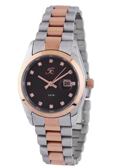 Moment Watch Teiwe Collection TC-CL2004 jam tangan wanita - stainlles steel - rosegold-silver