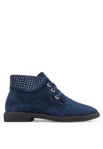 Noveni blue Stylish Boots NO978SH70VABMY_1