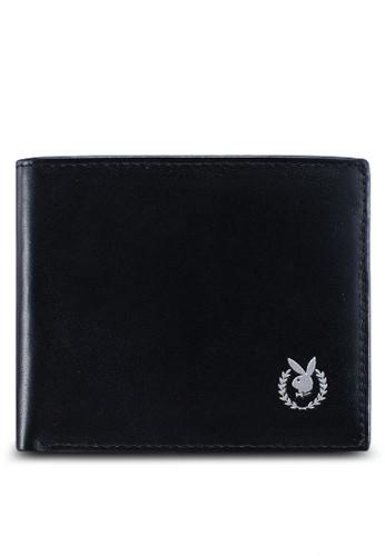 Playboy black Bi-Fold Wallet 463B0AC44C44ACGS_1