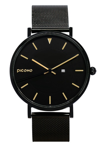 PICONO Watches black Rgb Collection Quickly Release Stainless Steel Strap Watch PI771AC2VUSFHK_1